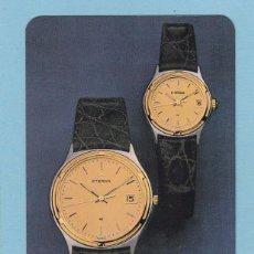 Coleccionismo Calendarios: CALENDARIO EXTRANJERO 1987 - RELOJ ETERNA. Lote 50964537