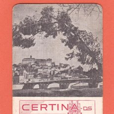 Coleccionismo Calendarios: CALENDARIO EXTRANJERO 1980 - RELOJ CERTINA. PUBLICIDAD JOYERIA. Lote 50964787