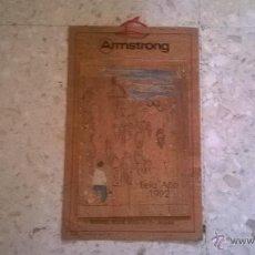 Coleccionismo Calendarios: CALENDARIO PUBLICITARIO DE CORCHO, CONSTRUCCIONES ARMSTRONG, OLIMPIADAS BARCELONA'92 1992, . Lote 51011026