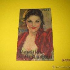 Coleccionismo Calendarios: ANTIGUO CALENDARIO DEL DR. ANDREU DEL AÑO 1937 GUERRA CIVIL CON 12 PAGINAS. Lote 51085191