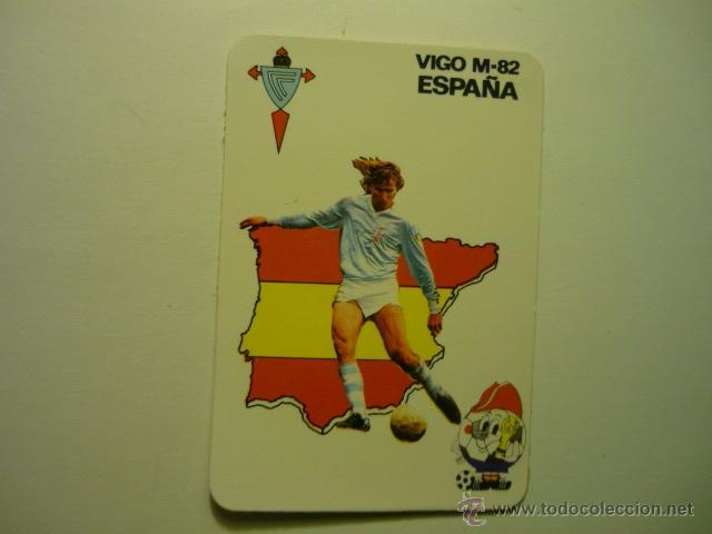 Calendario Celta Vigo.Calendario Futbol Espana 82 Celta Vigo