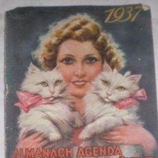 Coleccionismo Calendarios: ANTIGUO CALENDARIO 1937 GUERRA CIVIL CAFE FRANCES. Lote 51227291