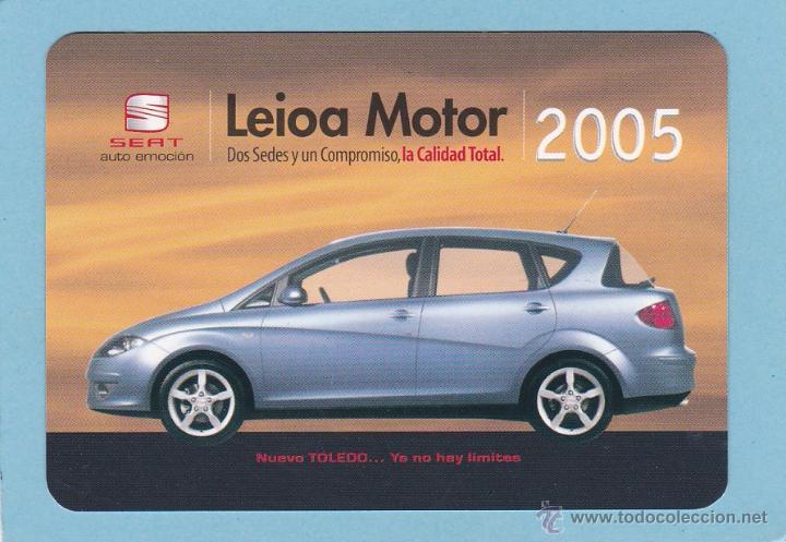 Calendario Max 2005.Calendario 2005 Leioa Motor Nuevo Seat Toledo Coches