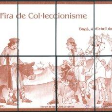 Coleccionismo Calendarios: CALENDARIOS BOLSILLO - PUZZLER BAGA 2009. Lote 166561002