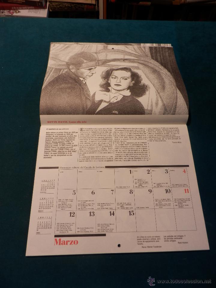 Coleccionismo Calendarios: ALMANAQUE CULTURAL CÍRCULO DE LECTORES 1990 - MITOS DEL CINE - TEXTOS TERENCI MOIX (CHARLOT-SUPERMAN - Foto 3 - 51434952
