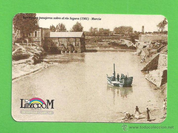 CALENDARIO DE BOLSILLO 1998 - LIBECROM - BARCO PARA PASAJEROS SOBRE EL RÍO SEGURA, 1920 - MURCIA (Coleccionismo - Calendarios)