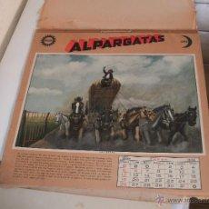 Coleccionismo Calendarios: ALMANAQUE ALPARGATAS - F. MOLINA CAMPOS - AÑO 1936 -. Lote 51559683
