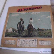 Coleccionismo Calendarios: ALMANAQUE ALPARGATAS - F. MOLINA CAMPOS - AÑO 1943 -. Lote 51571363