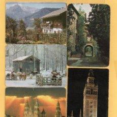 Coleccionismo Calendarios: LOTE DE CINCUENTA CALENDARIOS VARIAS CASAS COMERCIALES DE LOS AÑOS 1970 AL 2015 VER FOTOS. Lote 51640085