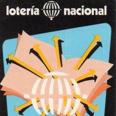 Coleccionismo Calendarios: CALENDARIO DE LOTERIA NACIONAL AÑO 1980. Lote 55314678