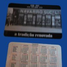 Coleccionismo Calendarios: CALENDARIO SERIE PUBLICIDAD, PUBLICADO PORTUGAL - AÑO:1985 - CASA NAVARRO - PORTO. Lote 51725061