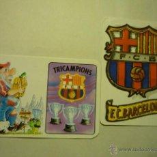 Coleccionismo Calendarios: LOTE CALENDARIOS FUTBOL BARCELONA 1994-1995. Lote 51793630
