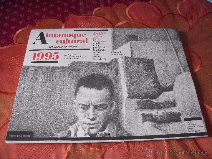 ALMANAQUE CULTURAL (Coleccionismo - Calendarios)