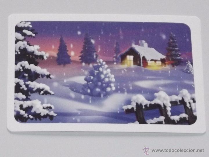Calendario dibujo paisaje nevado navidad casa y comprar - Paisaje nevado navidad ...