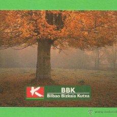 Coleccionismo Calendarios: CALENDARIO DE BOLSILLO 1995. BANCO BILBAO BIZKAIA KUTXA.. Lote 52294582