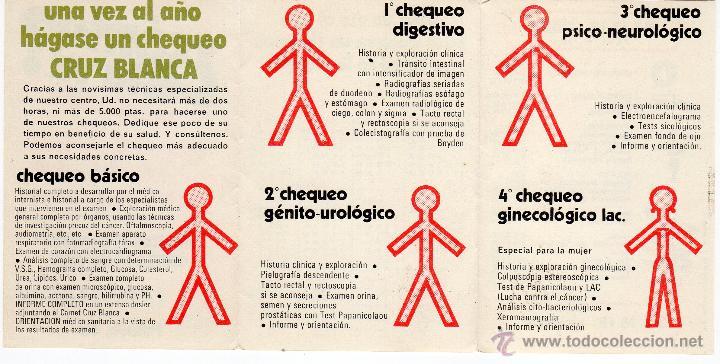 Calendario De 1976 Completo.Calendario Bolsillo Centro Medico Cruz Blanca Vendido En