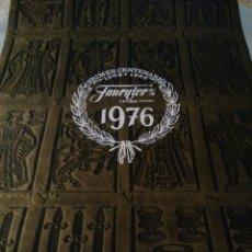 Coleccionismo Calendarios: CALENDARIO FOURNIER 1976. Lote 52659942