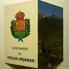 Coleccionismo Calendarios: CALENDARIO TIPO LIBRITO AYUNTAMIENTO DE VIELHA-MIJARAN 1992--. Lote 52780310