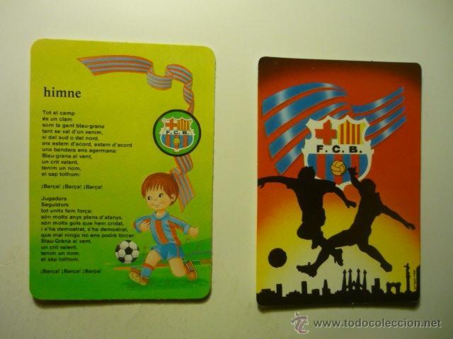 LOTE CALENDARIOS FUTBOL BARCELONA-1995-2002 (Coleccionismo - Calendarios)