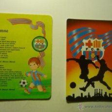 Coleccionismo Calendarios: LOTE CALENDARIOS FUTBOL BARCELONA-1995-2002. Lote 52809955