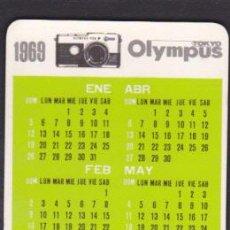 Coleccionismo Calendarios: CALENDARIO BOLSILLO 1969 OLYMPUS . Lote 52842067