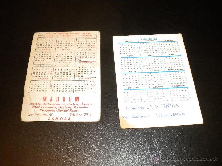 Coleccionismo Calendarios: 2 calendarios 1968 y 1959 - Foto 2 - 52959493