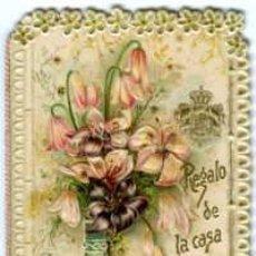 Coleccionismo Calendarios: CHOCOLATE JUNCOSA. 1898. REGALO DE LA CASA EVARISTO JUNCOSA A SUS CLIENTES. VER FOTOS ADICIONALES.. Lote 52964972