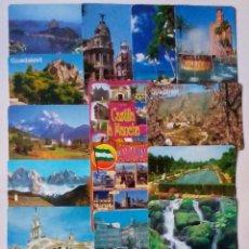 Coleccionismo Calendarios: 18 CALENDARIOS DE BOLSILLO VISTAS PANORÁMICAS Y MONUMENTOS DE ESPAÑA. Lote 52976791