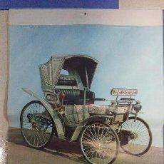 Coleccionismo Calendarios: CALENDARIO PARED 1963. PEUGEOT CON 8 LAMINAS DE COCHES ANTIGÜOS.. Lote 53050875