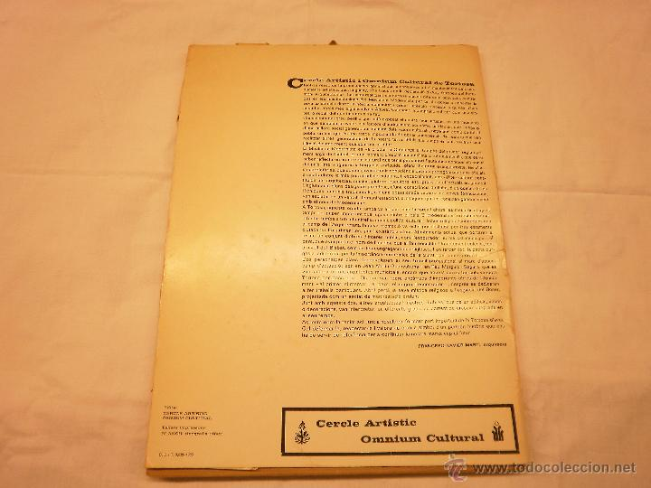 Coleccionismo Calendarios: CALENDARIO DE PARED 1976. MANIFESTACIONS MODERNISTES A TORTOSA - Foto 2 - 53067492