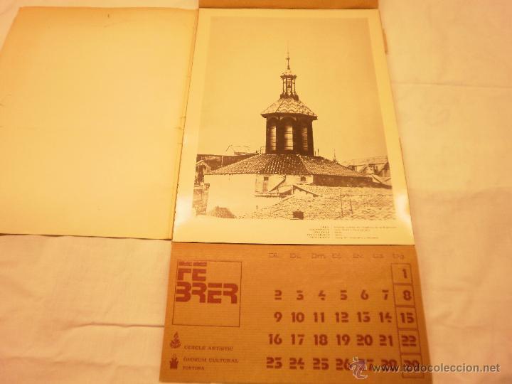 Coleccionismo Calendarios: CALENDARIO DE PARED 1976. MANIFESTACIONS MODERNISTES A TORTOSA - Foto 4 - 53067492