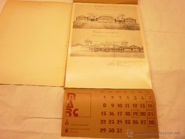 Coleccionismo Calendarios: CALENDARIO DE PARED 1976. MANIFESTACIONS MODERNISTES A TORTOSA - Foto 5 - 53067492
