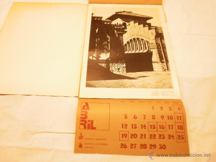 Coleccionismo Calendarios: CALENDARIO DE PARED 1976. MANIFESTACIONS MODERNISTES A TORTOSA - Foto 6 - 53067492