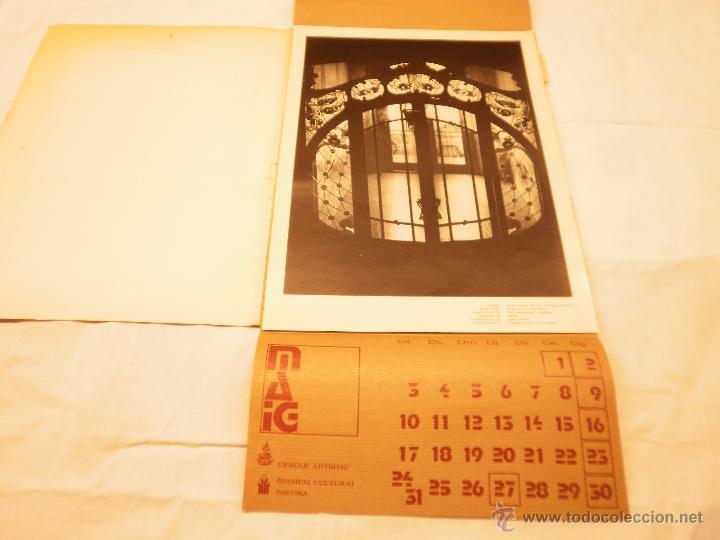 Coleccionismo Calendarios: CALENDARIO DE PARED 1976. MANIFESTACIONS MODERNISTES A TORTOSA - Foto 7 - 53067492