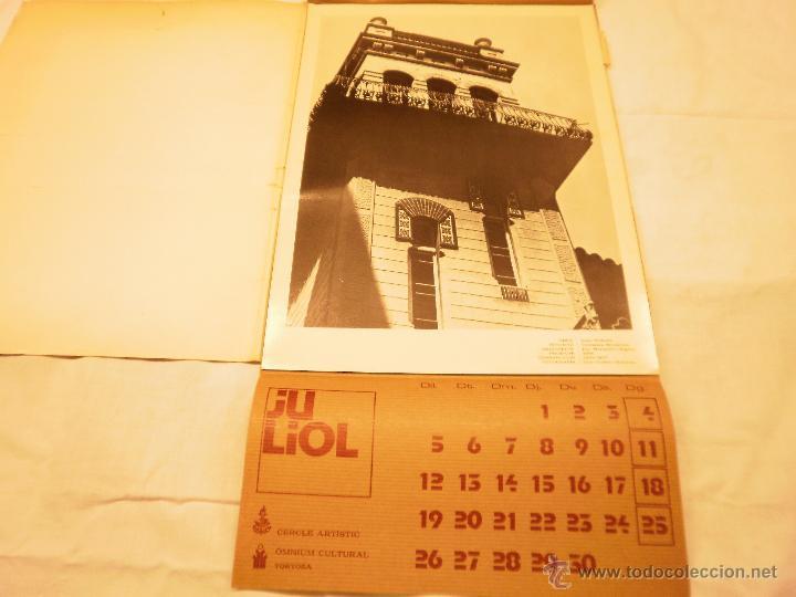 Coleccionismo Calendarios: CALENDARIO DE PARED 1976. MANIFESTACIONS MODERNISTES A TORTOSA - Foto 9 - 53067492