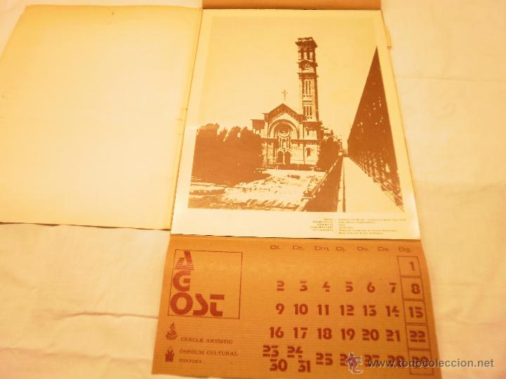 Coleccionismo Calendarios: CALENDARIO DE PARED 1976. MANIFESTACIONS MODERNISTES A TORTOSA - Foto 11 - 53067492
