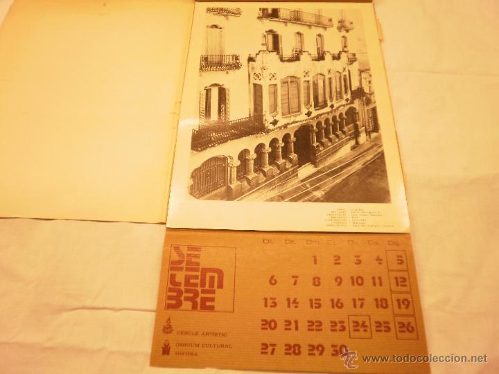 Coleccionismo Calendarios: CALENDARIO DE PARED 1976. MANIFESTACIONS MODERNISTES A TORTOSA - Foto 12 - 53067492