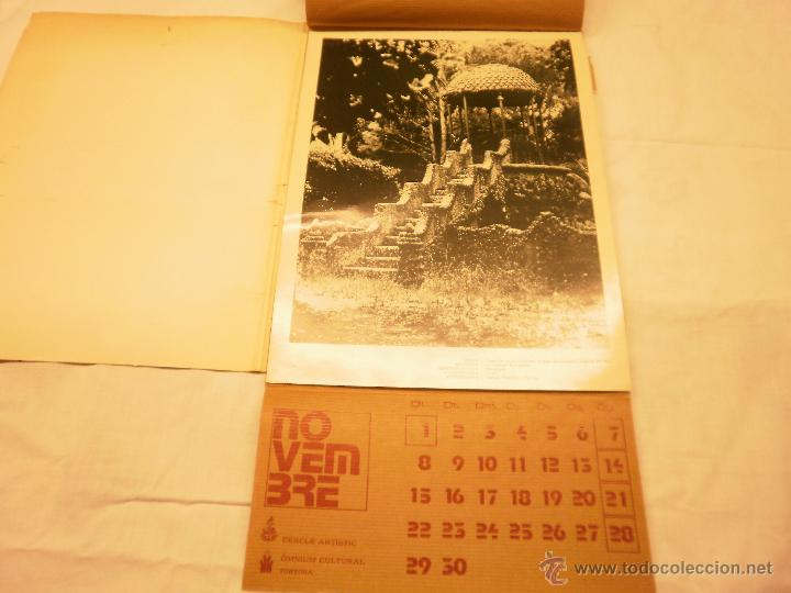 Coleccionismo Calendarios: CALENDARIO DE PARED 1976. MANIFESTACIONS MODERNISTES A TORTOSA - Foto 14 - 53067492