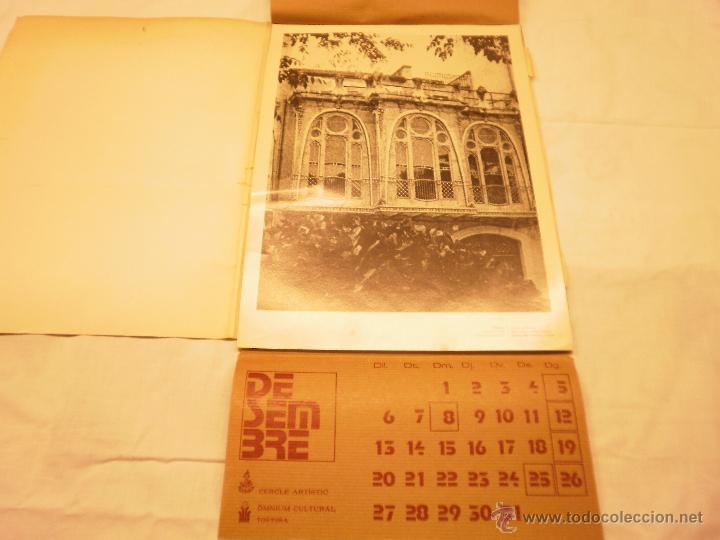 Coleccionismo Calendarios: CALENDARIO DE PARED 1976. MANIFESTACIONS MODERNISTES A TORTOSA - Foto 15 - 53067492