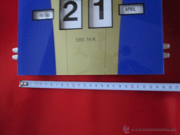 Coleccionismo Calendarios: Aºcalendario pared-perpetuo-w.germany-kaweco-azul+dorado-nuevo-ver fotos - Foto 6 - 53148534