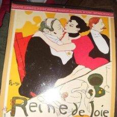 Coleccionismo Calendarios: CALENDARIO DE D'ART DEL 1988 DE TOULOSE LAUTREC CON 12 LAMINAS . Lote 53175675