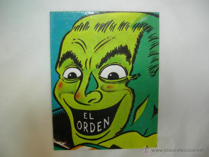 CALENDARIO 1984 EL VÍBORA - EL ORDEN (Coleccionismo - Calendarios)