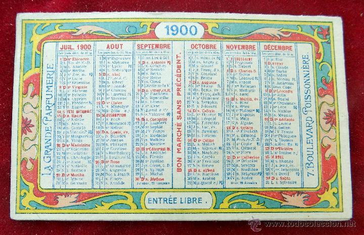 Calendario 1900.Precioso Calendario Ano 1900 Exposicion Univ Sold