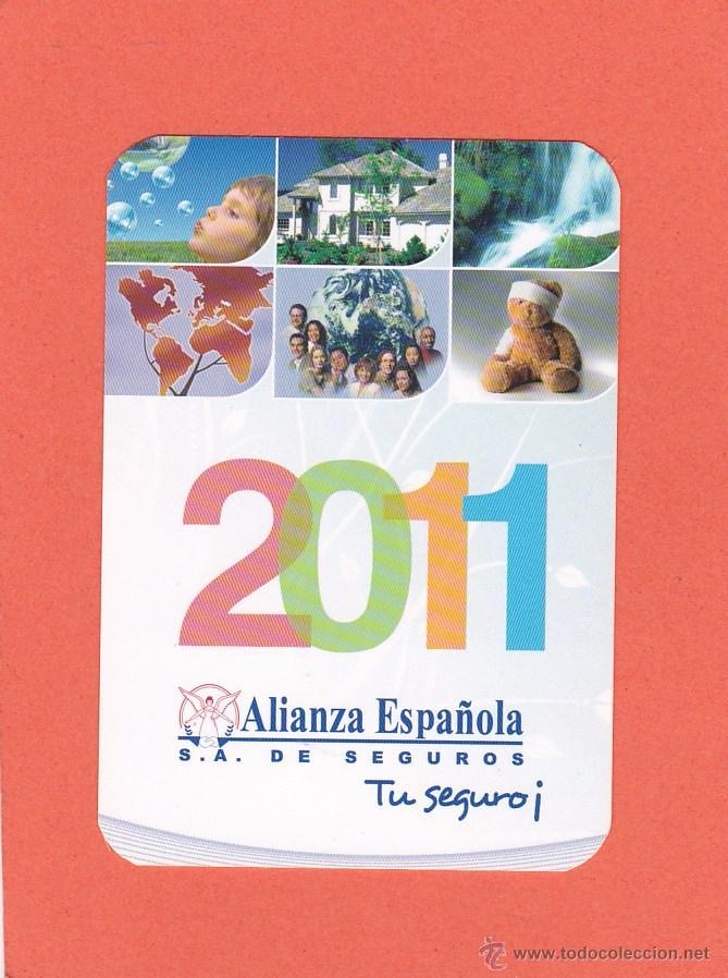 Calendario 2011 Espana.Calendario 2011 Alianza Espanola Seguros Vendido En Venta