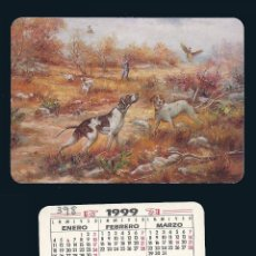 Coleccionismo Calendarios: CALENDARIO, PUBLICADO SPAIN, AÑO:1999 - ESCENA DE CAZA - S.E.F. - BADAJOZ. Lote 53468983
