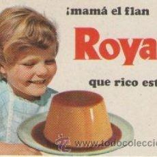 Coleccionismo Calendarios: CALENDARIO FLAN ROYAL *** AÑO 1970. Lote 53588521