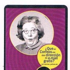 Coleccionismo Calendarios: CALENDARIO ANTIGUO CORREOS YAHOO ESPAÑA 2000. Lote 53621528