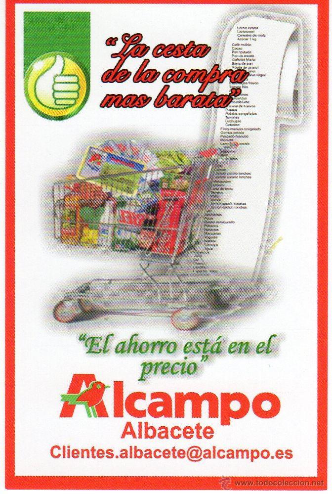 Alcampo Calendario.Calendario De Bolsillo Supermercado Alcampo Vendido En