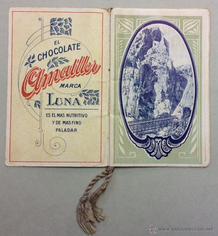 Coleccionismo Calendarios: CHOCOLATE AMATLLER. MARCA LUNA. CALENDARIO PARA 1919. FABRICA SAN MARTIN DE PROVENSALS. - Foto 2 - 53743351
