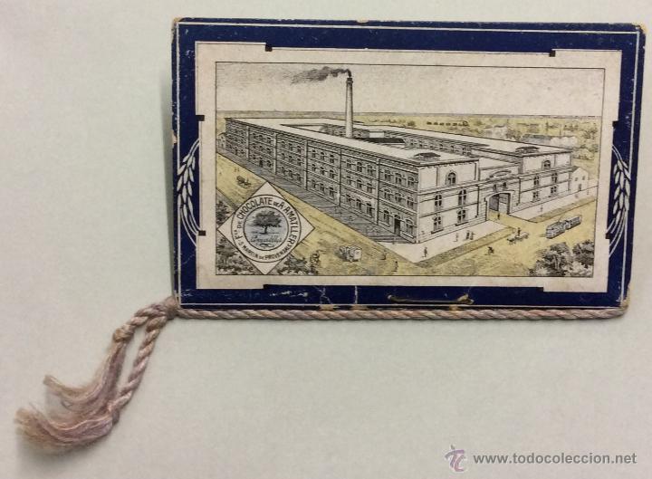 Coleccionismo Calendarios: CHOCOLATE AMATLLER. MARCA LUNA. CALENDARIO PARA 1919. FABRICA SAN MARTIN DE PROVENSALS. - Foto 7 - 53743351